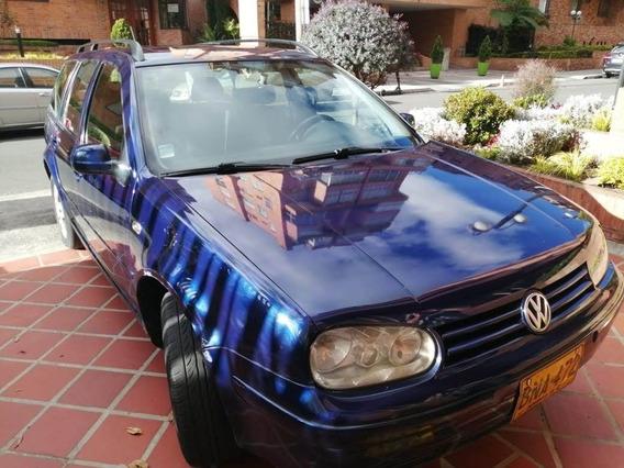 Volkswagen Golf Variant 2.0 2002 Azul 5p Full Equipo 7airbag