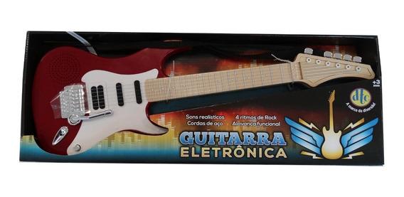 Guitarra Eletrônica Vermelha - Dtc 5105