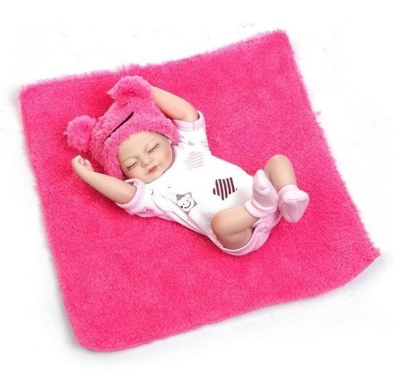Bebê Rebor Realista Vinil Npk Collection Encomenda 28cm