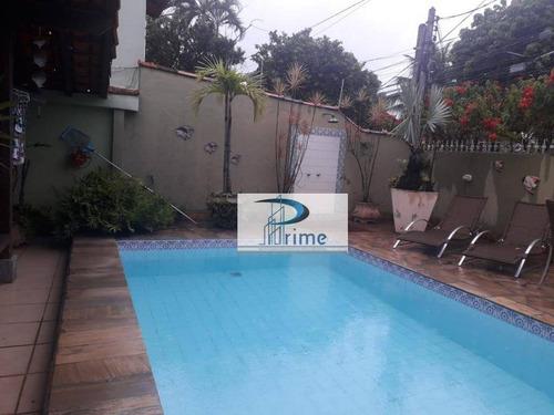 Casa Com 3 Dormitórios À Venda, 360 M² Por R$ 750.000 - Piratininga - Niterói/rj - Ca0596