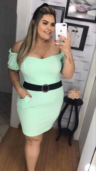 Vestido Plus Size Roupa De Mulher Cor Da Segunda Foto