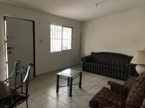 Renta De Departamento Semi-amueblado En Planta Alta, Col. Lauro Aguirre, Tampico, Tamaulipas.