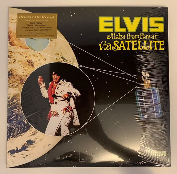 4 Lps Elvis Presley Aloha From Hawaii 40th Legacy Edition