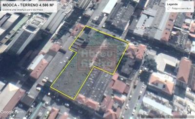 Mooca - Área De 4.586 M² - Para Incorporação Ou Estabelecimento Comercial - 893