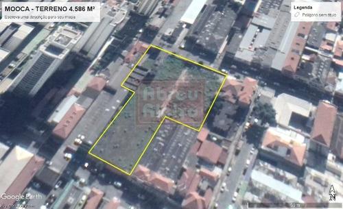 Imagem 1 de 3 de Mooca - Área De 4.586 M² -  Para Incorporação Ou Estabelecimento Comercial - 893