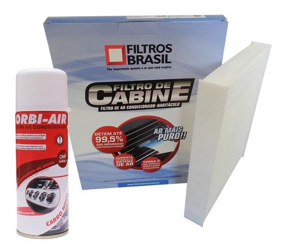Filtro Ar Condicionado Cabine + Higienizador - Grand Siena