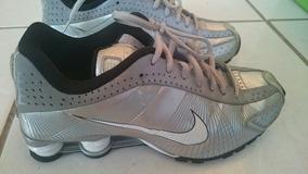 Nike Shox R4 Prata