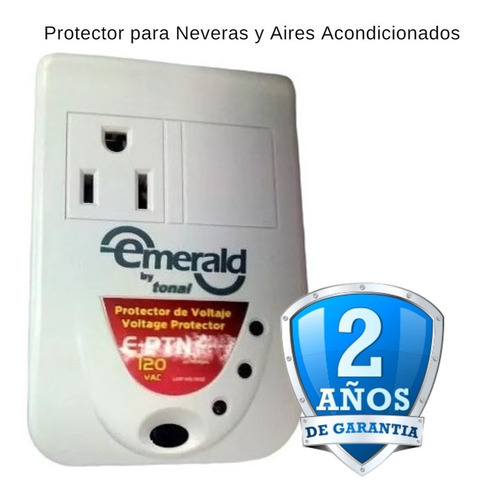 Protector Eléctrico Voltaje Corriente Nevera Freezer Cava