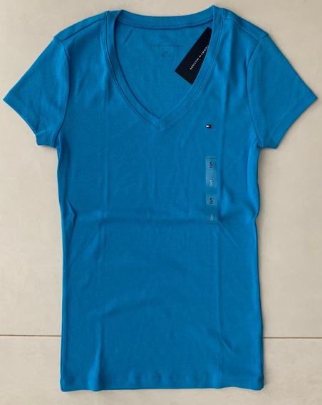Camiseta Tommy Hilfiger Feminina Casacos Hollister Blusa Gap