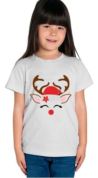 Playera Infantil O Pañalero Feliz Navidad 2019 Algodon 100%