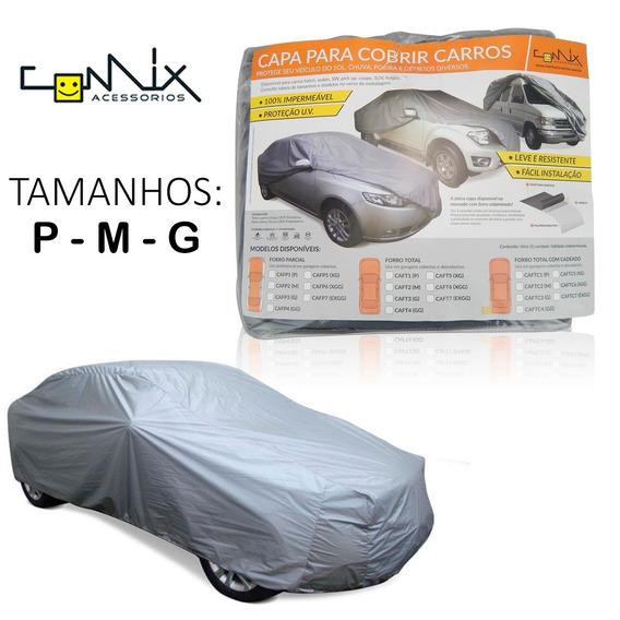 Capa Cobrir Carro Impermeável Com Proteção Solar (p,m,g)
