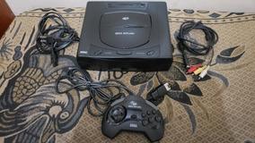 Sega Saturn Com Controle E Jogo Funcionando 100% D3