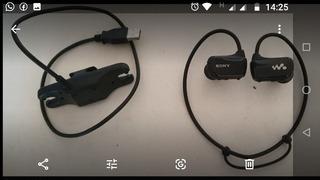 Auriculares Sony Walkman 4 Gb