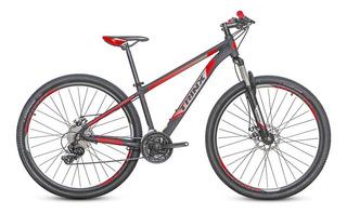Bicicleta Trinx Mtb M100 Pro Aro 29 Vermelho Quadro 19 Shimano Tourney E Freio Mecânico