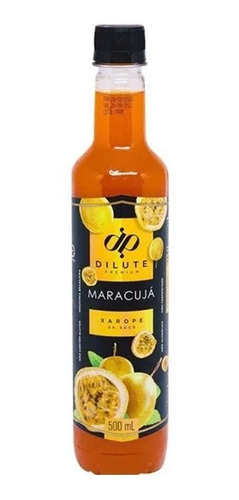 Imagem 1 de 1 de Xarope Dilute Soda Italiana Maracujá 500ml