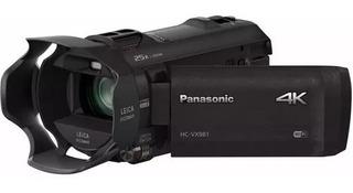 Filmadora Panasonic Hc-vx981 4k 24/30 Fps 20x Leica * Usd900