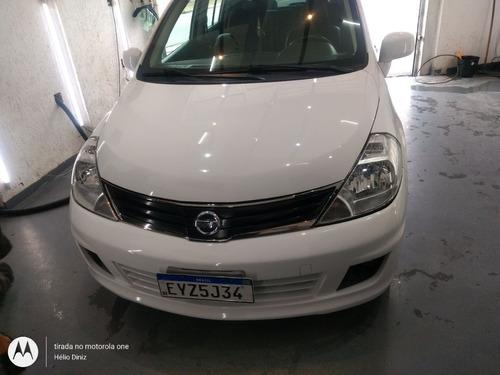 Tiida Sl 2012 Branco Com 57.700 Km Original O Carro