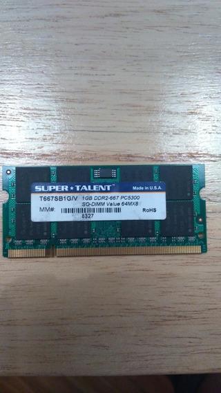Ram Memoria 1gb Ddr2