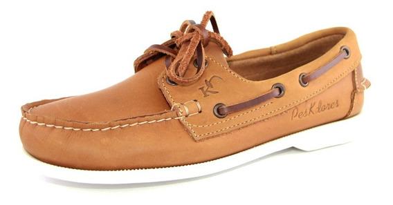 Zapatos Nauticos Mocasines Peskdores Caramelo Ca00039