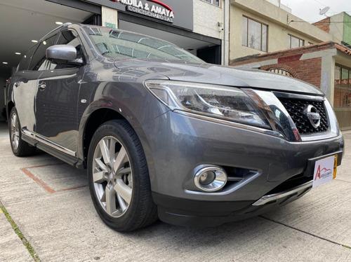 Imagen 1 de 14 de Nissan Pathfinder Exclusive Plus 3.5 2016 Tp 6ab Abs Sunroof
