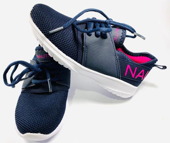 Tenis Nautica Zapatos Deportivos No.13 Niñas Original 100%
