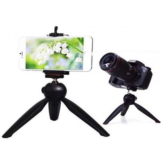 Mini Tripé Pra Celular E Câmeras