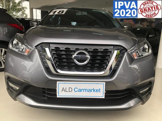 Nissan Kicks 1.6 Sv - Ipva 2020 Pago