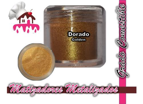Imagen 1 de 1 de Matizadores Comestibles Dorado / Golden 5g