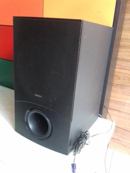 Caixa Sub Woofer Sony Ss-ws111 Dav-dz340 140w Rms 3 Ohms