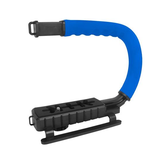 Grip Estabilizador Mão Filmagem Vivitar Vivvpt200 Azul