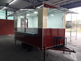 Food Trailer | Trailer De Lanches | Fábrica