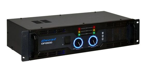 Amplificador Oneal Op2100 Potência 290w Rms 2 Canais