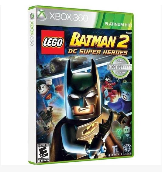 Lego Batman 2 Dc Super Heroes Xbox 360 Original Midia Fisica