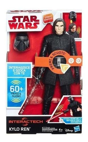 Star Wars Juguete Interactivo Personaje  Kylo Ren