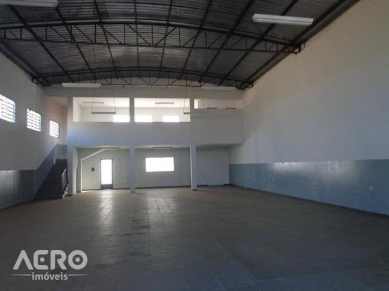 Barracão Para Alugar, 264 M² Por R$ 1.600,00/mês - Parque Viaduto - Bauru/sp - Ba0118
