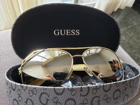 ff28058b9 Oculos Guess Aviador Gu 7151 Gld 62 - Óculos com o Melhores Preços ...