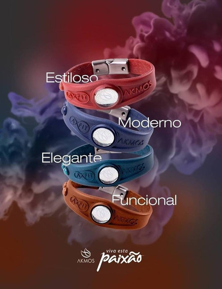Pulseira Bracelete Akmos Magnética