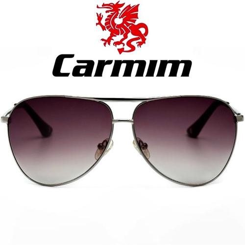 e32eb9dc8 Óculos De Sol Masculino Carmim Prateado - Óculos no Mercado Livre Brasil