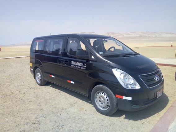 Van H1 Hyundai Servicio Turistico Con Permiso De Mtc