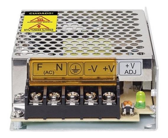 Fonte Eletrônica Cftv Intelbras Efm-1210 12,8v 10a Colmeia