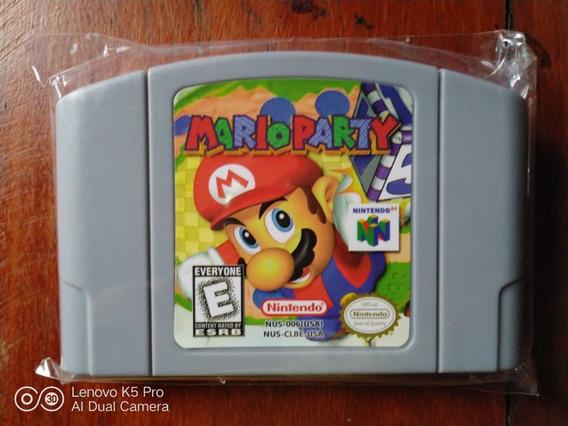 Cartucho Mario Party Nintendo 64 Repro