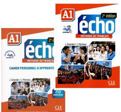 Écho A1 Livre Eleve E Cahier Personnel Apprentissage Juntos