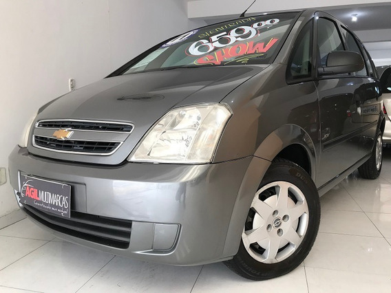 Chevrolet Meriva 1.4 Joy Único Dono 2011 Cinza S/entrada
