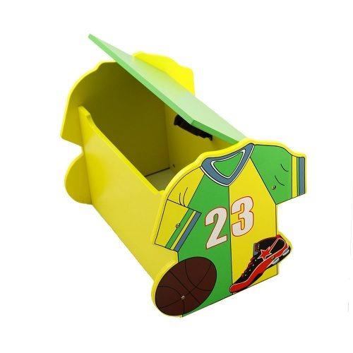 Baul Juguetero Diseño De Basquet Cuarto Niños Namaro Design