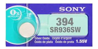 Pilas Sony Sr936sw 394 Oxido De Plata Original Japon