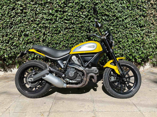 Ducati Scrambler Icon 2016.800cc.10.000 Kms.caba.unico Dueño