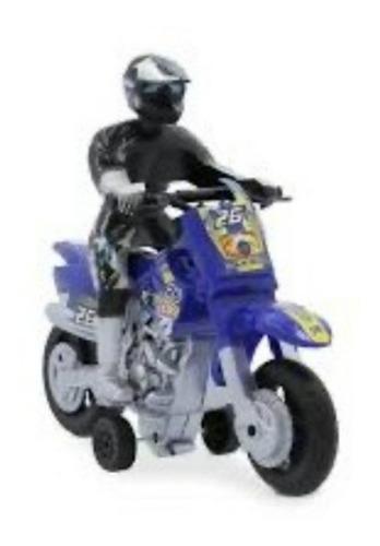 Imagen 1 de 5 de Moto Luz Y Sonido Motoquero Juego Juguete Nene Motociclista