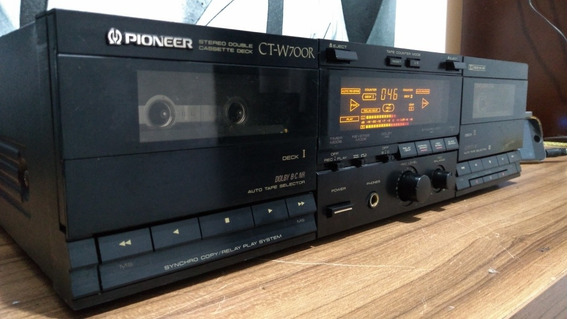 Tape Deck Duplo Pioneer Ct-w700r