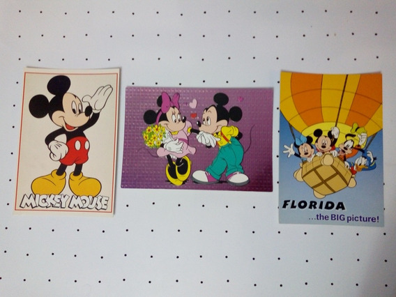 Tarjeta Postal Disney Made In Usa