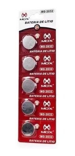 Bateria De Lítio Mox 3v Cartela Com 5 Unid - Balança Mo-2032